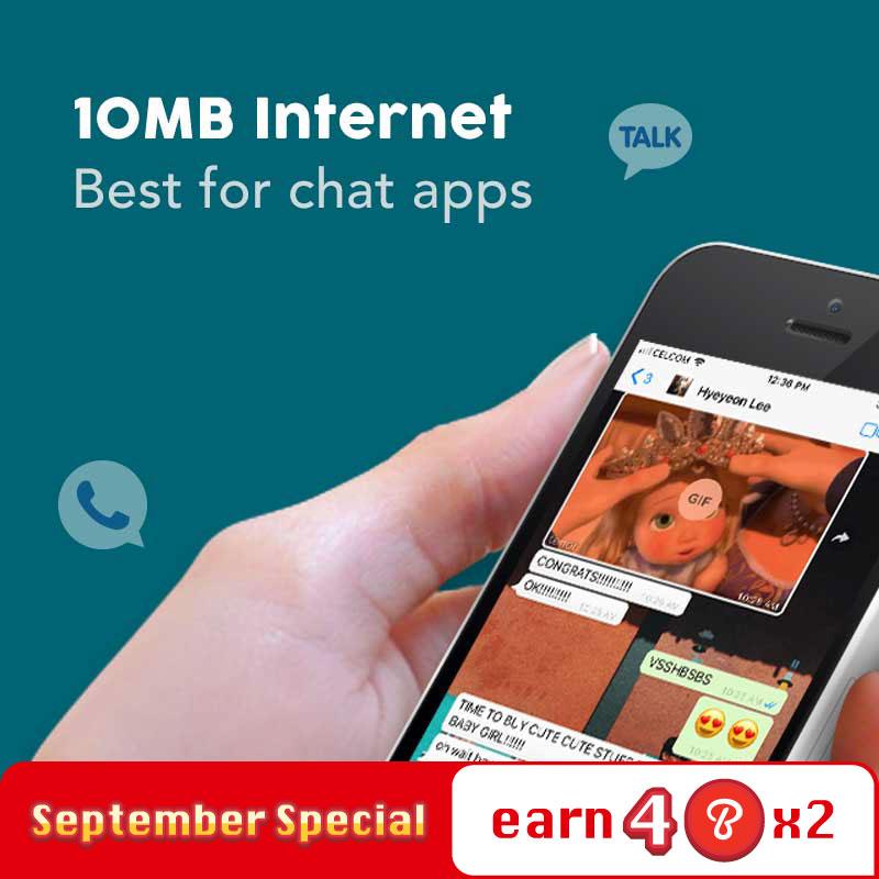 Internet Plan - 10MB