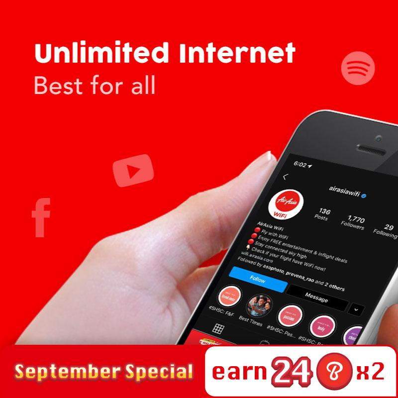 Internet Plan - Unlimited